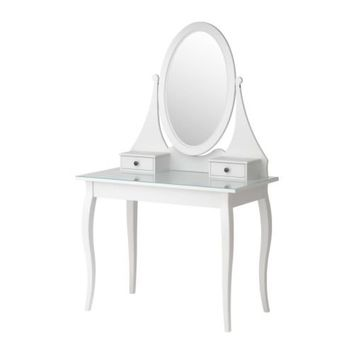 HEMNES Dressing table with mirror - IKEA