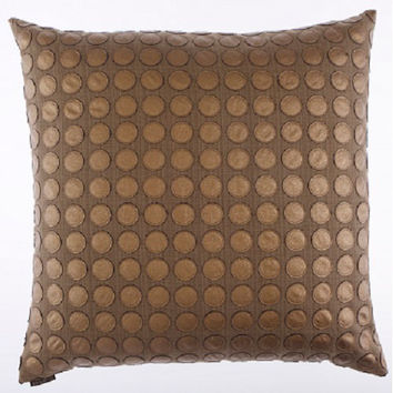 Canaan Company 2148-B Love Game Applique Linen 24 x 24 Pillow (Clearance Priced)