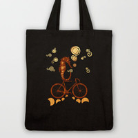 underwater ride Tote Bag by Viviana González