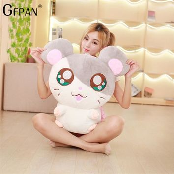 30-50cm Hamster Mouse Plush Toy Stuffed Soft Animal Hamtaro Doll Lovely Kids Baby Toy Mickey Mouse Birthday Gift for Children