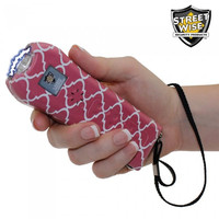 Streetwise Ladies' Choice 21,000,000 Stun Gun (Pink & White)