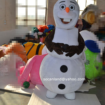 Christmas/Xmas Frozen Olaf Mascot Costume,Olaf Cosplay Costume,Adults Costumes,Clothing,Christmas/Xmas Costumes,Party Costumes,Party Cosplay