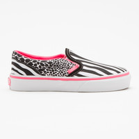 Animal Multi Slip-On, Girls
