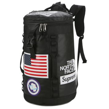 Supreme The North Face Canvas Backpack School Bookbag Travel Bag Daypack