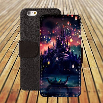 iphone 5 5s case lanterns castle iphone 4/4s iPhone 6 6 Plus iphone 5C Wallet Case,iPhone 5 Case,Cover,Cases colorful pattern L407