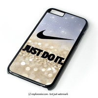 Nike Just Do It Art iPhone 4 4S 5 5S 5C 6 6 Plus , iPod 4 5  , Samsung Galaxy S3 S4 S5 Note 3 Note 4 , and HTC One X M7 M8 Case