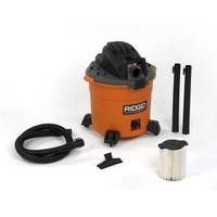 RIDGID, 16 Gal. 5-Peak HP Wet/Dry Vacuum, WD1636 at The Home Depot - Mobile