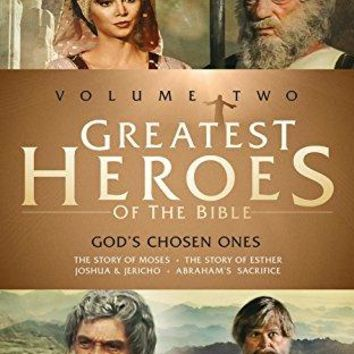John Marley & William Daniels - Greatest Heroes of the Bible: Volume Two - God's Chosen Ones: The Story of Moses / The Story of Esther / Joshua & Jericho / Abraham's Sacrifice