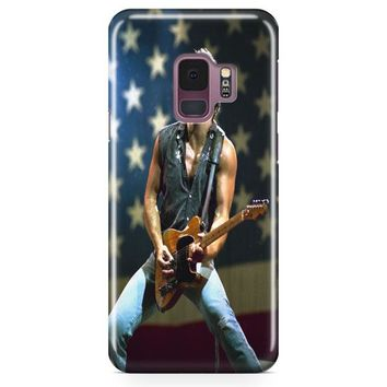 Bruce Springsteen Born To Run Quote Samsung Galaxy S9 Case | Casefantasy