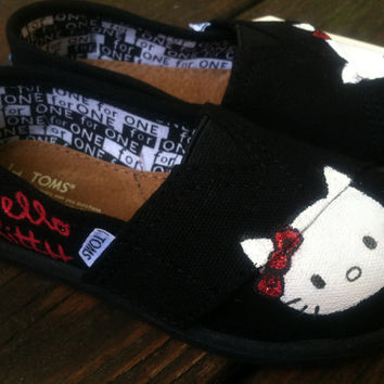Hello Kitty TOMS for Toddlers by KillerKicks23 on Etsy
