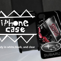 Subaru STi Customized iPhone Case for iPhone 4 case, iPhone 5 case and Samsung galaxy s3