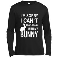 Sorry I Can't I Have Plans With My Bunny: Pet Lover T-Shirt