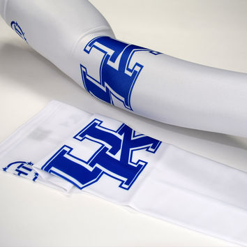 University of Kentucky White Arm Sleeves