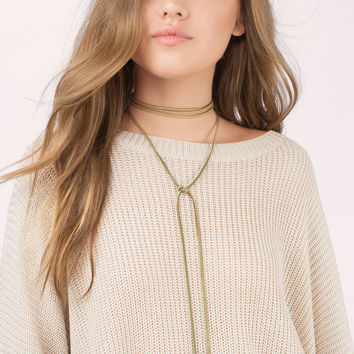 Livvy Wrap Necklace