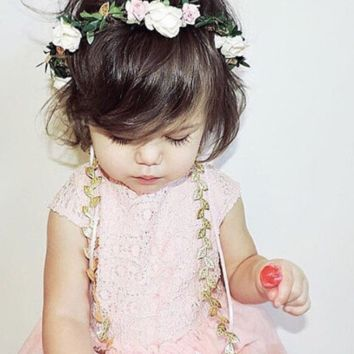 Flowers Garland Crown Wreath - CCFGCW