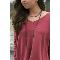Get Charmed Double Stone Necklace