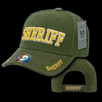 New Hat Ball Caps, Law Enforcement Sheriff Police Patrol Olive DrabBaseball Caps