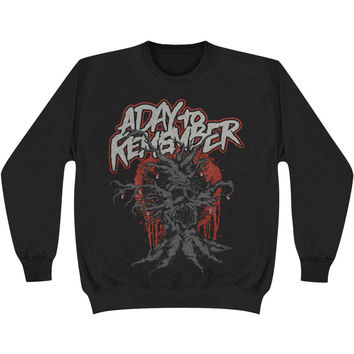 A Day To Remember Men's  Evil Tree Sweatshirt Black Rockabilia