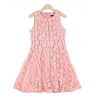 Lovely Flower Flare Dress