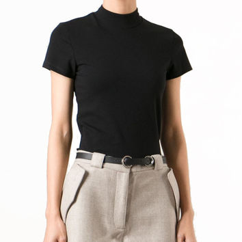 Acne Studios Neona Fitted Black T-Shirt