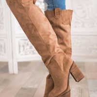 Henderson Suede Boots (Light Brown)