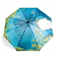 INFMETRY:: World Map Automatic Folding Umbrella - Home&Decor