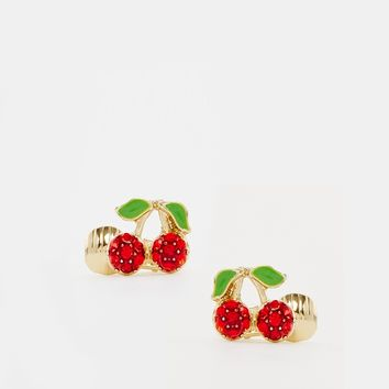 ASOS Cherry Ear Cuffs