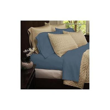 Regal Comfort Bamboo Luxury 2100 Series Hotel Quality Sheet Full Light Blue