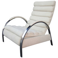 "Elegant Recliner by Milo Baughman for ""Design Institute America"""