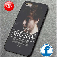 ed sheeran (4)  for iphone, ipod, samsung galaxy, HTC and Nexus PHONE CASE