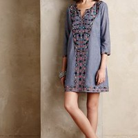 Sayulita Tunic Dress by Corey Lynn Calter Light Denim