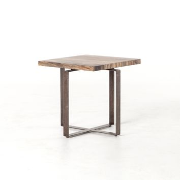CARA SIDE TABLE - SPALTED PRIMAVERA