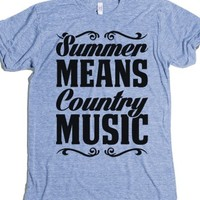 Summer Means Country Music