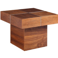 Abbey Side Table Natural Walnut