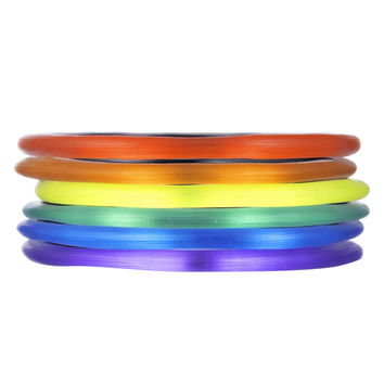 Pride Bangle Bracelet Stack | Alexis Bittar