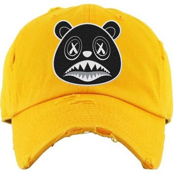 Oreo Baws Yellow Dad Hat