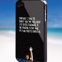 Calvin and Hobbes Quotes - For iPhone, Samsung Galaxy, and iPod. Please choose the option