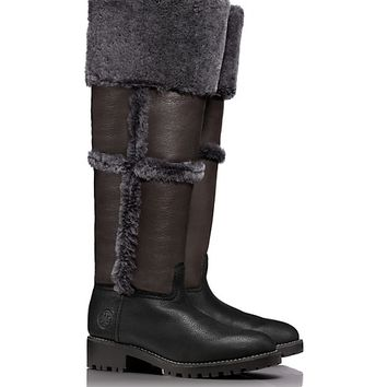 Tory Burch TALOUSE HIGH SHEARLING BOOT