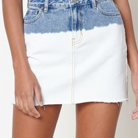 PacSun Ombré Mini Skirt at PacSun.com - indigo blue | PacSun