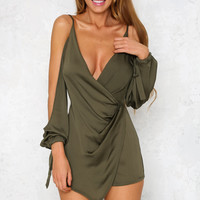Location Dress Khaki