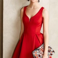 Ravine Flared Dress by Ali Ro Red