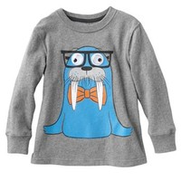 Jumping Beans Googly Eye Walrus Tee - Toddler