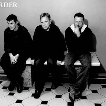 New Order Band Portrait Poster 11x17