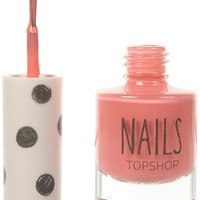 Nails in Flamingo Coral - Nails - Make Up - Topshop