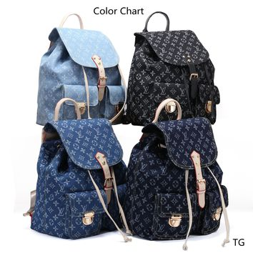 Beauty Ticks Fashion Louis Vuitton Lv  Backpack 3 Colors 7709