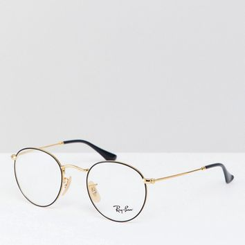 Ray-Ban Round Glasses at asos.com