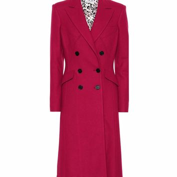 Elvin wool-blend coat