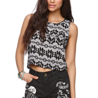 LA Hearts Button Back Cropped Tank at PacSun.com