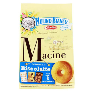 Macine Shortbread Biscuits by Mulino Bianco 12.3 oz