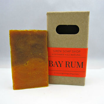 Bay Rum Mini Soap, Vegan Soap, Natural Soap, Bay Rum